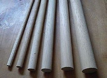 15cm Wooden Craft Sticks - Hardwood Dowels Poles CHOOSE QUANTITY & DIAMETER